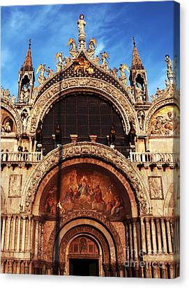 St. Marks Square Canvas Print by John Rizzuto