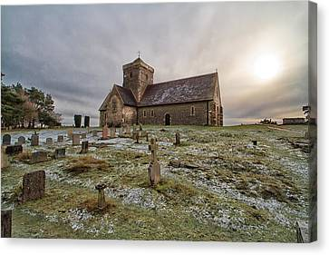 St Martha's On The Hill Canvas Print by Shirley Mitchell