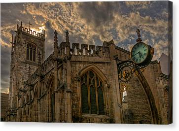 St Martin Coney Street In York Canvas Print by Pablo Lopez
