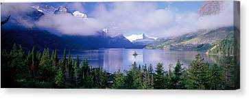 St Mary Lake, Glacier National Park Canvas Print