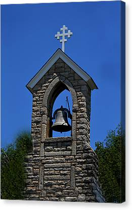 St Mary Magdalene Church Fayetteville Tennessee Canvas Print by Lesa Fine