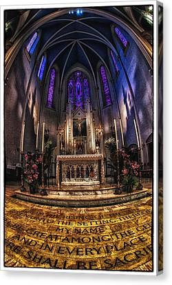 St Mary's 2 Canvas Print