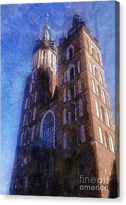 St. Mary's Church Cracow Canvas Print by Mo T
