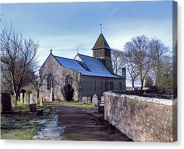 St Marys Church Raskelf Canvas Print by Trevor Kersley