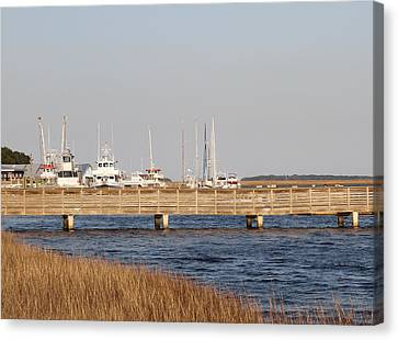 St. Mary's Harbor Canvas Print