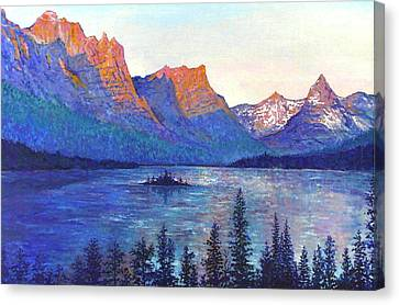 St. Mary's Lake Montana Canvas Print