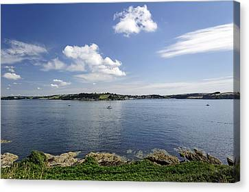 St Mawes From Pendennis Point Canvas Print by Rod Johnson