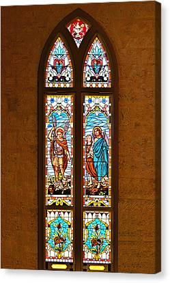 St Michael And St Raphael Canvas Print