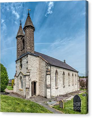 St Michael Church Canvas Print by Adrian Evans
