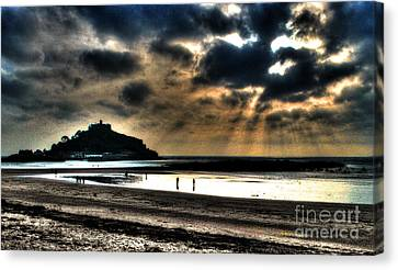 St. Michaels Mount Canvas Print by Anthony Hedger