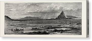 St. Michaels Mount, Cornwall, The South Coast Canvas Print by English School