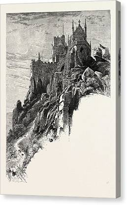 St. Michaels Mount, The Lands End, Uk Canvas Print by English School