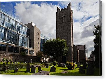 St Michens Church, 1686, Dublin City Canvas Print by Panoramic Images