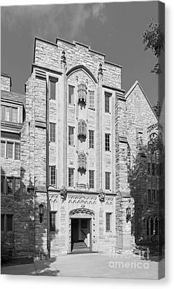 St. Olaf College Mellby Hall Canvas Print by University Icons