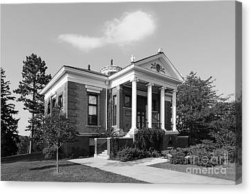 St. Olaf College Steensland Hall Canvas Print by University Icons