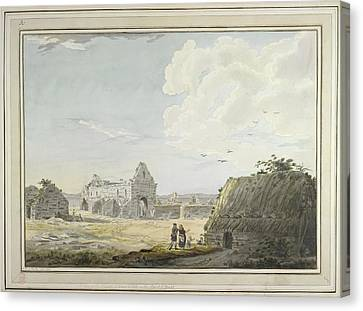 St Oran's Chapel Canvas Print by British Library