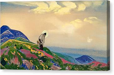 Healer Canvas Print - St. Panteleimon The Healer by Nicholas Roerich