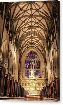 St Patrick Cathedral  Canvas Print by John McGraw