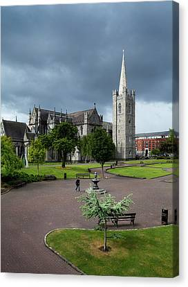 St Patricks Cathedral, Dublin, Ireland Canvas Print by Panoramic Images