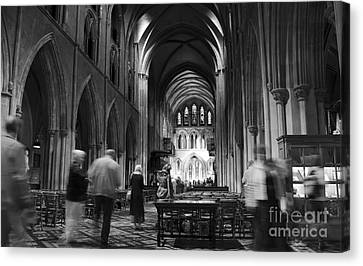 St Patrick's Cathedral Dublin Canvas Print by RicardMN Photography