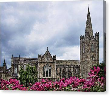 St. Patrick's Cathedral Canvas Print by Nancy Ingersoll