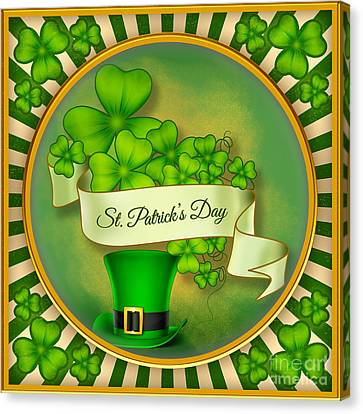 St. Patrick's Day Canvas Print by Bedros Awak