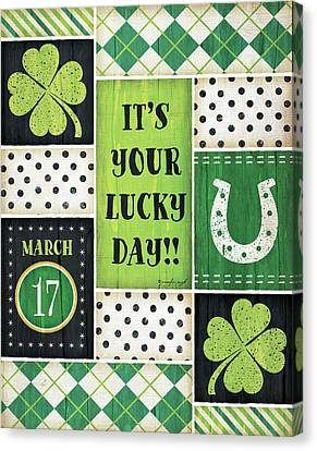 St. Patrick's Canvas Print by Jennifer Pugh