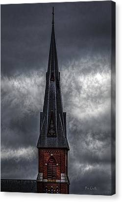 St. Patricks Spire  Canvas Print by Bob Orsillo