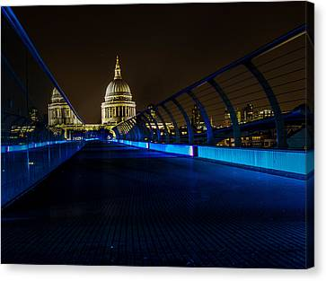 Urban Exploration Canvas Print - St Paul's Cathedral by Martin Newman