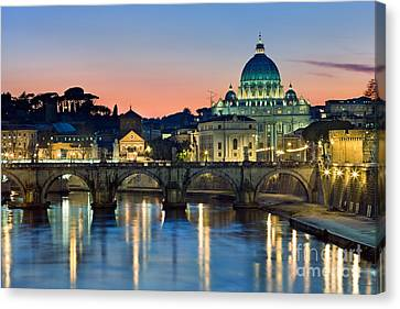St Peter's - Rome Canvas Print by Rod McLean
