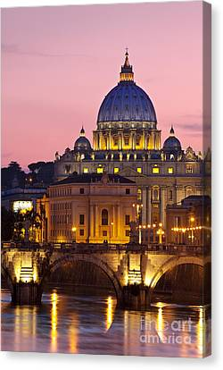 St Peters Basilica Canvas Print by Brian Jannsen