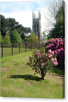 United Kingdom Canvas Print - St Peter's Church - Stapenhill by Rod Johnson