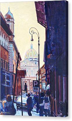 St. Peters Canvas Print by David Randall