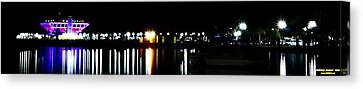 Canvas Print featuring the photograph St. Petersburg Pier Panorama by Richard Zentner