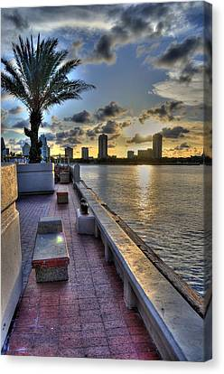 St. Petersburg Pier Canvas Print