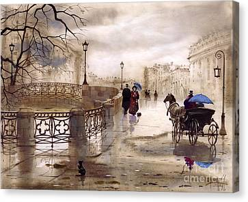 St. Petersburg Canvas Print