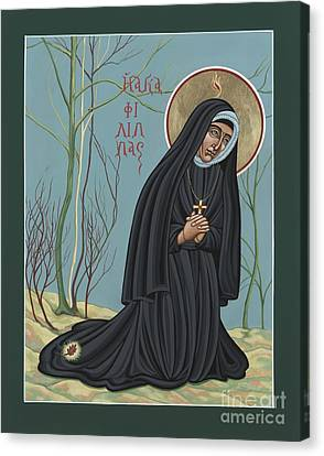 St. Philippine Duchesne 259 Canvas Print by William Hart McNichols