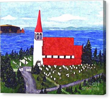 St. Philip's Church Canvas Print by Barbara Griffin