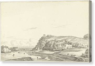 St. Pietersberg On The Meuse, Maastricht The Netherlands Canvas Print by Quint Lox