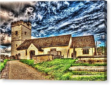 St Sannans Church Bedwellty Canvas Print