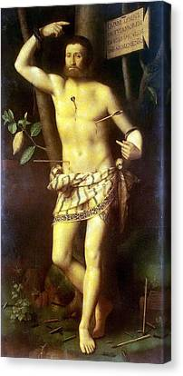 St Sebastian Canvas Print by Celestial Images