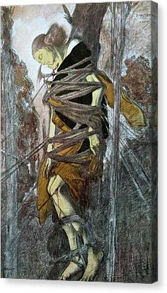 Martyr Canvas Print - St. Sebastian, From The Martyr Of St by Leon Bakst