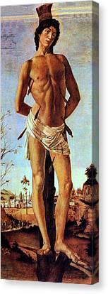 Martyr Canvas Print - St. Sebastian by Sandro Botticelli