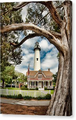 St. Simons Island Lighthouse  Canvas Print by Brent Craft