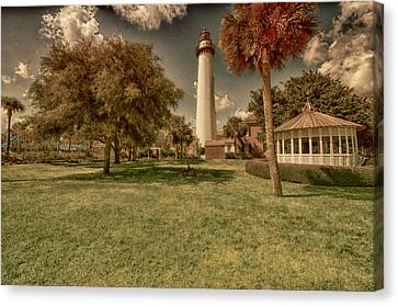 St. Simon's Island Lighthouse Canvas Print