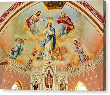 St. Stanislaus Church Canvas Print by Cindy Croal