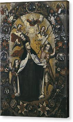 St. Teresa In Ecstasy. Anonymous Author Canvas Print by Everett