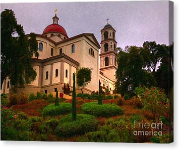 St. Thomas Aquinas Church Large Canvas Art, Canvas Print, Large Art, Large Wall Decor, Home Decor Canvas Print by David Millenheft