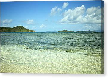 Pillsbury Canvas Print - St. Thomas Beach Delight by Luke Moore