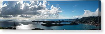 St. Thomas Harbor Canvas Print by Camille Lopez